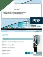 Les Solutions IBL Rational Pour SAP