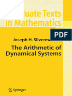 Arithmetic Dynamical Systems - Joseph Silverman