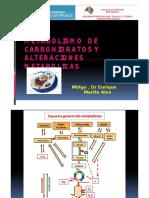 ALTERACIONES METABOLISMO CARBOHIDRATOS