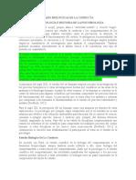 Epistemiologia Bases Bilogicas de La Conducta
