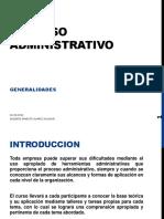 Proceso Administrativo y Planificacion Estrategica