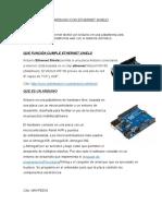 Arduino Con Ethernet Shield