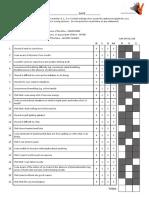 DASS 21 With Scoring Sheet