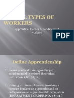 Special Types of Workers