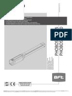 Manual Phobos BT A25 - BT A40