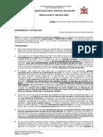 INSCRIPCIÓN DE LISTA COMPLETA DE CANDIDATOS AL CONGRESO DE JULIO GUZMÁN HA SIDO DECLARADA IMPROCEDENTE POR EL JEE DE HUAURA