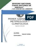 Gabinete de Meteorologia y Climatologia