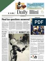 The Daily Illini - Thursday, April 15, 2010