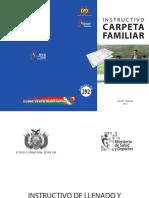Instructivo carpeta familiar-Bolivia