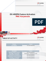 Activate DC_HSDPA Feature RNC_HW Karyamulia