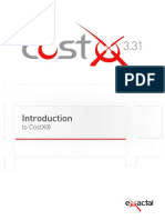 Introduction to CostX