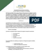 Convocatoria Posgrado Antropología UNAM 2015