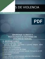 Víctimas de Violencia Sexual