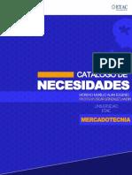 CATÁLOGO DE NECESIDADES