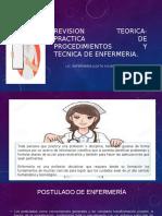 Revision Teorica- Practica de Procedimientos y Tecnica De