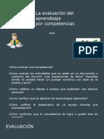 La Evaluacion Del Aprendizaje Por Competencias