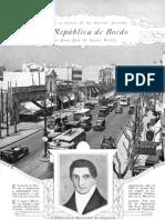 La República de Boedo, Caras y Caretas 11-10-1931