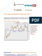 The Bear Potential of the UK Gilt (s)