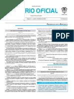 Diario oficial de Colombia n° 49.788 16 de febrero de 2016