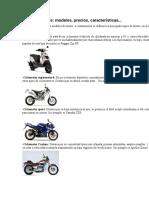 Clases de Motos