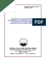 Package Cement Fugitive Emission