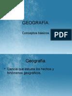 Geografia. Conceptos basicos.
