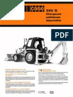 Brochure Commerciale 580G Déportable