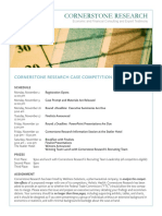 Case Competition Summary