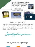 spelling sets presentation 2015