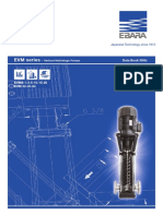 Domesic Water Pump- EVMSG 15 6F5 Q1BEG E-5.5
