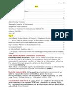 Real Estate Fall 2014 - Rosenblatt (Short Summary)