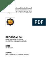 Grand Iftar Proposal