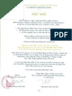 Thu Moi CA Doan Thanh Linh -Gx Thanh Duc