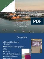 ACUHO-I Summer Internship at the University of Massachusetts
