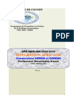Gpe_doc 5-Comparaison Uemoa Cedeao
