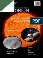 Astronomski Časopis ORION 1