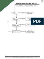 Manual de Instrução SDC 701 Mercedes