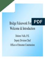 Fracasos de Obras Falsas en Puentes