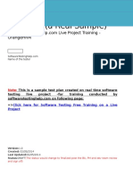 Live Project Test Plan SoftwareTestingHelp