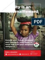Charity is Eternal Reward - Minhaj Welfare Foundation 2015