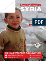 Supporting the people of SYRIA 2016 - Minhaj Welfare Foundation