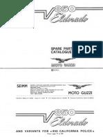 850Eldorado Parts List