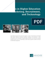 Trends in Higher Education Marketing Recruitment and Technology 2
