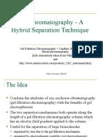 Electro Chromatography