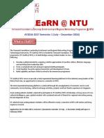 Tf Learn @ Ntu Info Sheet Ay2016 2017 4