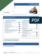 Raport VIN Autodna - Subaru
