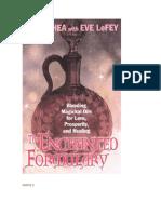 The Enchanted Formulary Esp