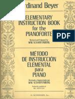 Método de Instruccion Elemental Para Piano