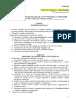 3. Regulament Cadru Voluntariat