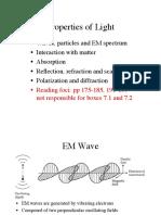 Properties of Light